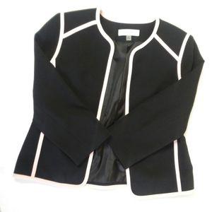 JONES Studio jacket with pink trim